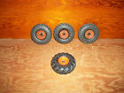 Toy Truck Tires 3 Firestone 1 Good Year Solid Hard Rubber Free Shipping!!!