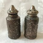 VTG Salt  Pepper Shaker Pair Pewter DSP Co 201 3 1 4