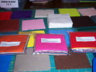 50 4 inch Quilt Block Squares SOLIDS Bella and Kona fabric