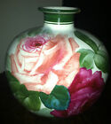 Exquisite Antique Royal Bonn Hand Painted Floral Vase  ROSES are fine ART!!