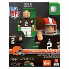 Johnny Manziel NFL Cleveland Browns Oyo G2S2 Minifigure NEW Toys LEGO Size