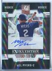 Wil Myers 2009 Donruss Elite RC Rookie Auto #'ed 169 799 San Diego Padres *B268