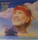 VINTAGE WILLIE NELSON 'Island' PROMO PHOTO POSTER FLAT 1987