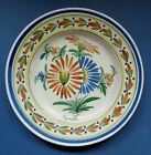 OLD FRENCH POTTERY HB QUIMPER FAIENCE PLATE