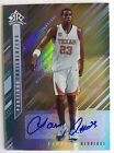 2006 07 UD REFLECTIONS LAMARCUS ALDRIDGE ROOKIE AUTO GOLD SP # 1 50 FIRST ONE!!