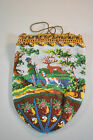 Victorian Beaded Bag with Landscape Design and Home and Huntsman Depicted