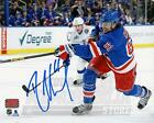 Rick Nash New York Rangers Signed Autographed Home Action 16x20 H