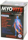 Myogenix MYOVITE Multivitamin Multimineral Whole Body Health Support 44 Packs