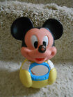 VINTAGE MUSICAL ROLLY POLLY MICKEY MOUSE WITH MIRROR
