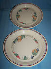 (2) CORNING CORELLE - ABUNDANCE FRUIT - 81/2