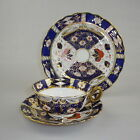 19th Century Imari Pattern Trio by Kensington Fine Art Pottery Hanley.