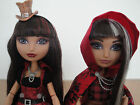 Ever After High doll lot Cerise Hood Hat tastic 1st edition