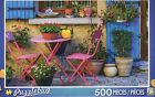 NEW Puzzlebug 500 Piece Jigsaw Puzzle -Terrace of House - FREE SAME DAY SHIPPING