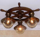 464 Vintage 50s 60s Ceiling Lamp Light  Fixture  MARITIME NAUTICAL