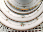 Noritake Joanne Dinnerware 5 Piece Setting Floral With Beaded Band 6 Available