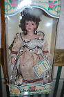 Vanessa Collection by Timeless Treasures Porcelain Doll w Stand Handpainted 18