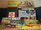 BOARD GAMES VINTAGE  RARE Monopoly Derby Soccer click on the site to chose