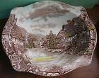 Vintage Johnson Brothers Olde English Countryside Oval Vegetable Serving Bowl
