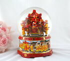 Purple Rain musical box waterglobe snow globe - Chinese wedding bridal sedan