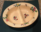 Wedgwood 1930s Vintage Vegetable Serving Bowl Divided Dish of Etruria England
