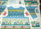 Fabric Traditions Green Thumb Vest fabric panel butterflies ladybugs gardening