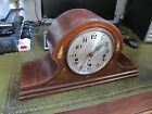 Wooden Mantle Clock Inlaid Westminster Chime