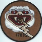 USAF PATCH 170 FIGHTER SQUADRON DEPLOYED AIR NATIONAL GUARD US AIR FORCE PATCH