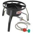 Outdoor Gas Cooker Propane Stoves Hiking BBQ Smokers Tailgating Burner Camp New
