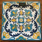 "Cynthia Rowley 16"" Melamine Serving Platter LARGE SPANISH TILE NEW INDOOR/OUTDOO"