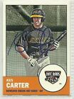 Kes Carter signed Autographed Card 2012 Topps Heritage Minor Leagues