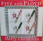 Fitz & Floyd Merry Christmas Appetizer Set