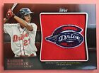 Xander Bogaerts 2012 Topps Pro Debut Logo Patch Rookie RC Non Auto RARE!