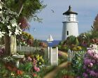White Mountain Puzzles To The Lighthouse - 1000 Piece Jigsaw Puzzle , New, Free