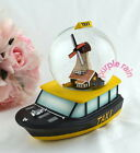 Purple Rain Forest musical box snow globe waterglobe - Netherlands water taxi