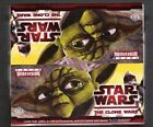 Star Wars The Clone Wars Widevision sealed Hobby box of trading cards from Topps