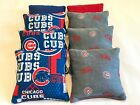 CHICAGO CUBS CORNHOLE BEAN BAGS SET OF 8 TOP QUALITY REGULATION TOSS GAME