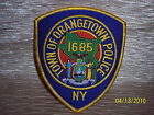 ORANGETOWN, NEW YORK  POLICE DEPARTMENT- PATCH = NEW