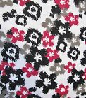 Snuggle Flannel Pink  Black Cheetah Pattern Apparel Quilting Gen BTY New