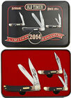 Schrade SCHPROM148CP Old Timer 2014 Gift Tin Set Folding Knife