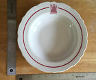 1950s Restaurant China Hamilton Hotel Large Soup Bowl Syracuse China USA 9H