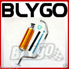 Exhaust Pipe + GOLD Alloy Muffler GY6 150cc 200cc Quad Dirt Bike ATV Dune Buggy