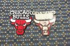 NBA CHICAGO BULLS Iron or Sew-On WHITE LETTERS Patch ONE OR MORE