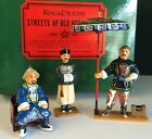 KING & COUNTRY STREETS OF OLD HONG KONG HK041 (GLOSSY) THE MANDARIN SET *RETIRED