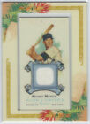 2006 Allen & Ginter MICKEY MANTLE FRAMED GAME USED JERSEY RELIC YANKEES