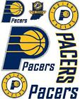 Indiana Pacers Iron On T Shirt Pillowcase Fabric Transfer Set 1