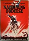 VINTAGE R63 SWEDISH MOVIE POSTER BIRTH OF A NATION DW GRIFFITH MASTERPIECE