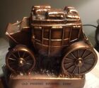 1974 OLD PHOENIX NATL BANK STAGECOACH COIN BANK BY BANTHRICO.