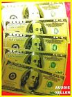 USA AMERICA GOLD $100 X 5 COLOUR BANK NOTE  DOLLAR BILL BANKNOTE 24KT GOLD