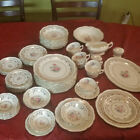 Fine China - 73 piece American Beauty Bridal Bouquet Stetson 22kt Gold Vintage