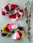 2 Hair Bows Monster High Girls Keychain Toddler Baby Birthday Party Gift Favor S